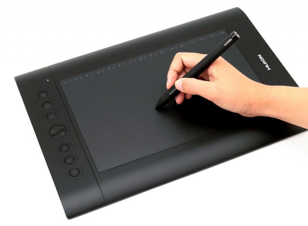 Графический планшет HUION 610 PRO, фото 1