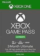 Подписка Xbox Game Pass Ultimate на 3 месяц (Xbox/Win10) | Все Страны