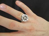 """Мужское кольцо из серебра 925 пробы """"Роза ветров"""" - популярное мужское украшение"""