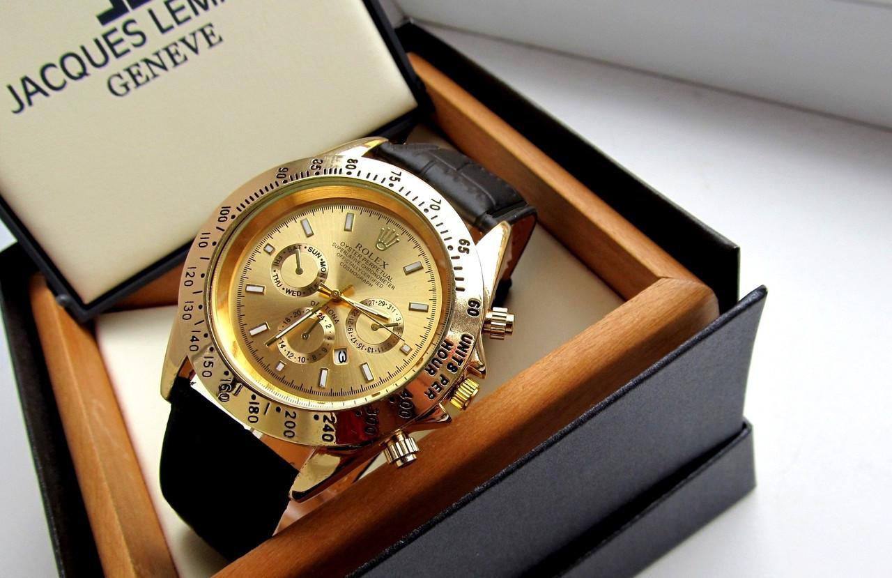 80cd0e57d18e Мужские наручные часы Rolex Daytona золото, интернет магазин часов -  Интернет - магазин MaxTrade в