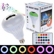 Музыкальная лампочка E27 12W RGB с USB Bluetooth