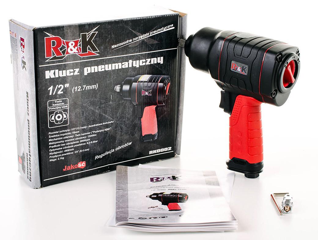 Пневматические ключи RK 1500Nm, фото 1