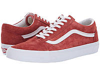 Кроссовки/Кеды Vans Old Skool™ (Pig Suede) Burnt Brick/True White