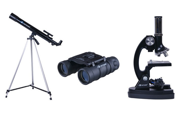 Телескоп + микроскоп + бинокль OPTICON