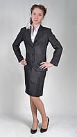 Костюм школьный на девочку Барбара тройка (пиджак+юбка+брюки)