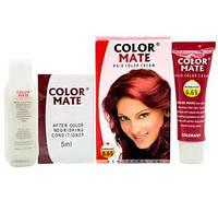 Крем-краска для волос Color Mate Hair Color Cream 6,65 бургунд