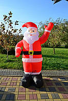 Надувной Санта Клаус 1,8 М , фото 1