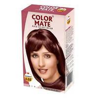Крем-краска для волос Color Mate Hair Color Cream 4,66 махагон