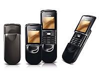 Корпус для Nokia 8800 Sirocco Black (полный комплект) - оригинальный