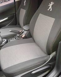 Чехлы модельные Peugeot 301 2012-> (разд.задн.сп.)