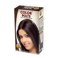 Крем-краска для волос Color Mate Hair Color Cream 3,0 темно-коричневый