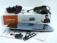 Відеореєстратор в дзеркалі з додатковою камерою заднього виду DVR A23 дзеркало з двома камерами