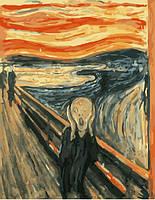 """Картина по номерам BrushMe """"Крик. Эдвард Мунка"""" 40х50см G322"""