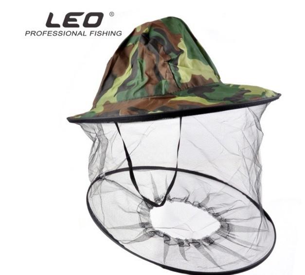 Накомарник - антимоскитная шляпа с сеткой для охоты и рыбалки Leo