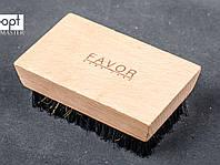 Щетка FAVOR для замши, комбинированная, 17,6*6,6 см, фото 1