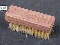 Щетка обувная FAVOR, мягкая натуральная щетина, 9,5*3 см, фото 1