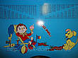 Регулируемая детская парта растишка со стульчиком Bambi W 055 A, фото 6