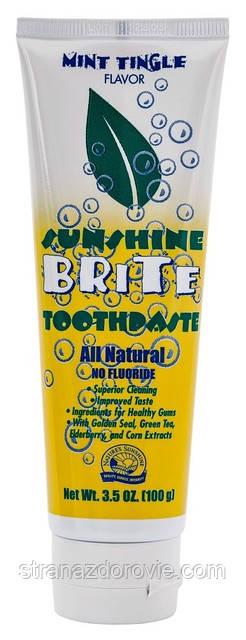 Натуральна зубна паста Саншайн Брайт - 100 р - NSP, США