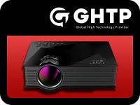 Мультимедійний проектор LED WIFI USB PI!!, фото 1