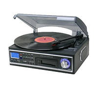 Проигрыватель магнитных лент VINYL TURNTABLE PLATE с MP3 USB SD, фото 1