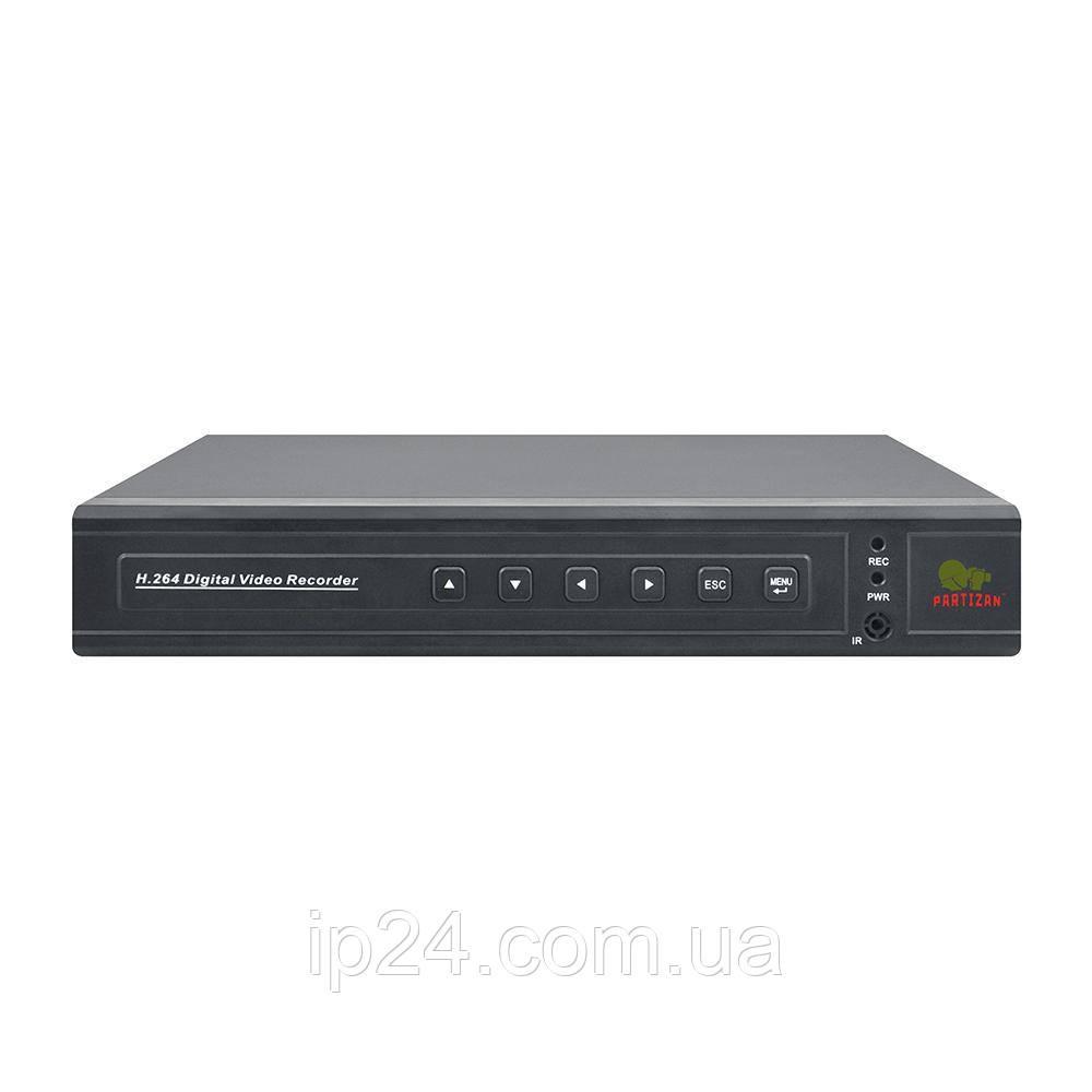 Partizan CHD-116EVH HD 4.1 гібридний AHD/TVI/CVI/CVBS/IP відеореєстратор