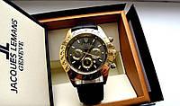 Часы наручные мужские Rolex Daytona черное золото, часы физрука