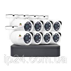 2.0 MP Набір для вулиці AHD-24 8xCAM + 1xDVR + HDD