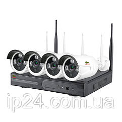 5.0MP Набор для улицы Wi-Fi IP-31 4xCAM + 1xNVR