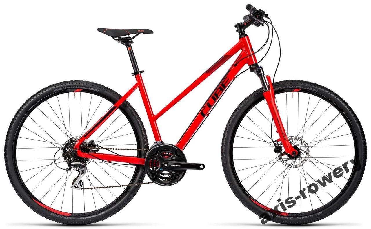 Велосипед CUBE CROSS CURVE PRO 2016