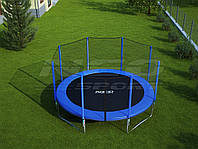 Батут NeoSport 465см с сеткой и лесенкой, фото 1