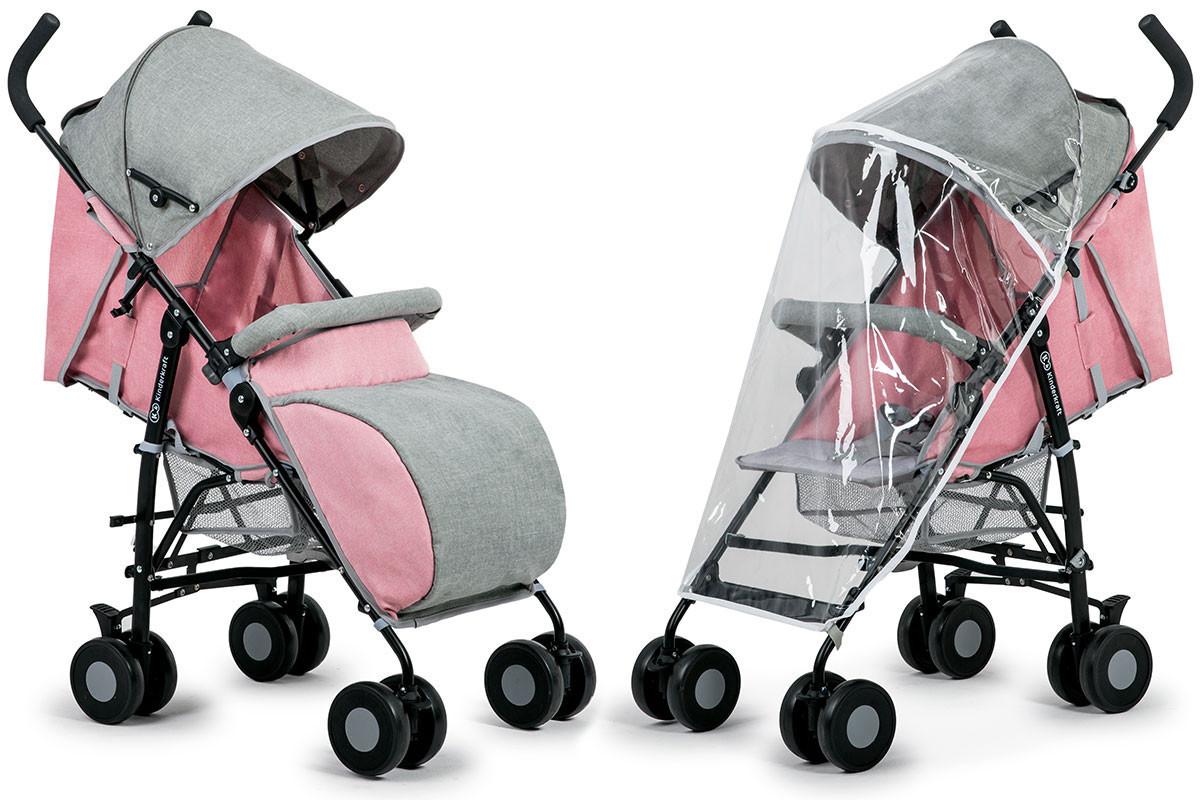 Прогулочная коляска KINDERKRAFT Розовая/ Зонт коляска, фото 1