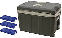 Автомобильный холодильник электрический 45L 12/230 + 3 вставки, фото 1