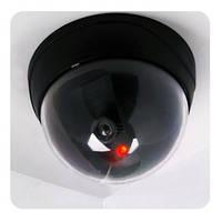 Муляж камеры, фальшивая (не настоящая) купольная камера видеонаблюдения