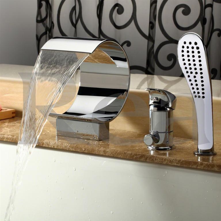 Смеситель для ванны 3 панели