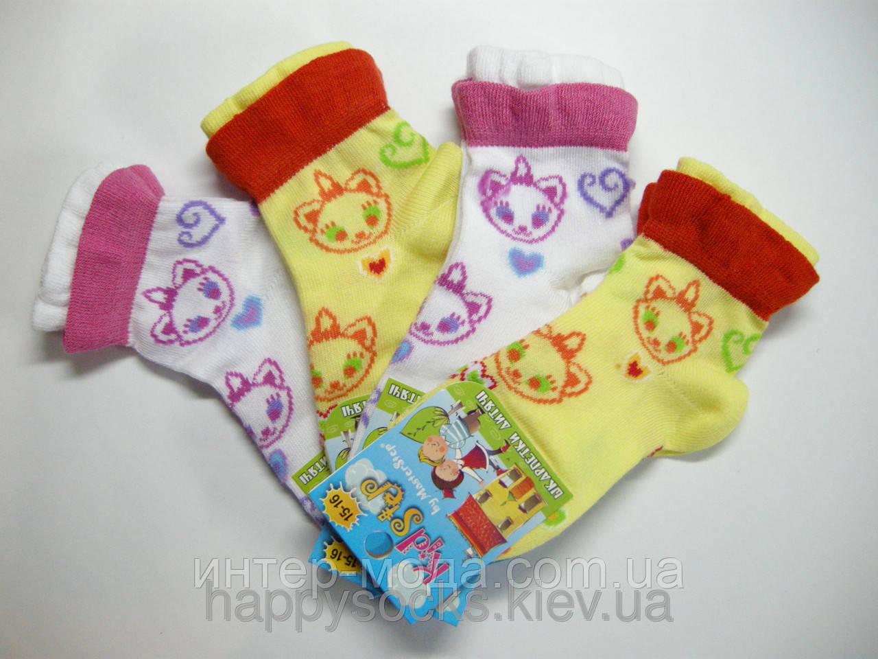 Шкарпетки дитячі з малюнком р. 8 арт.807