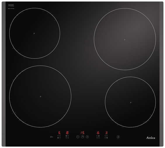 Индукционная панель AMICA IN 6540 ITB