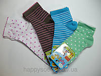 Детские носки демисезон для девочки р.8,10,12.арт.819