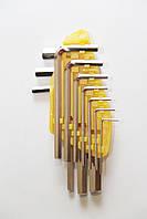 Набор шестигранных ключей JOBI profi, 10 шт, 1,5-10 мм