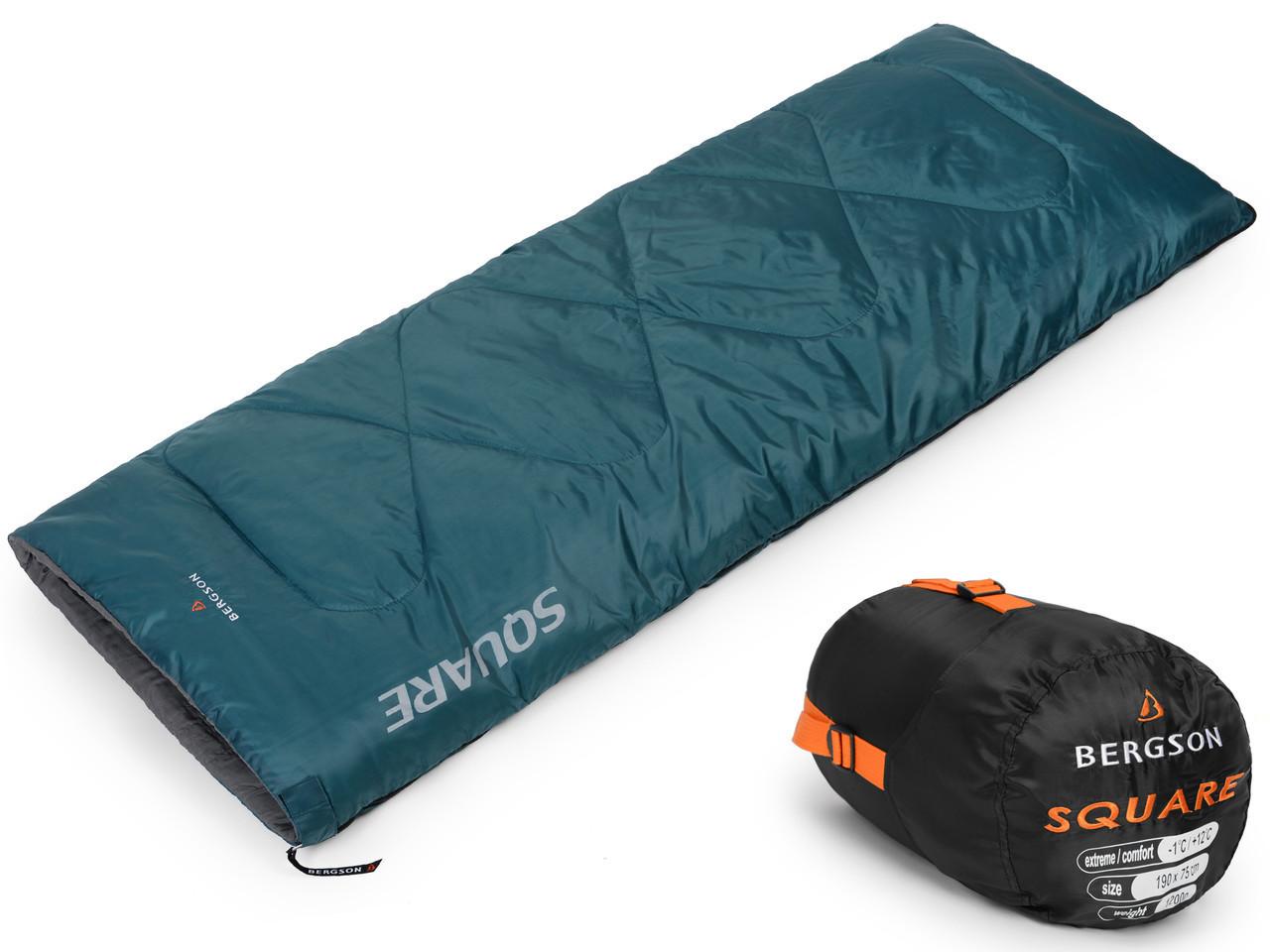 Спальный мешок BERGSON SQUARE