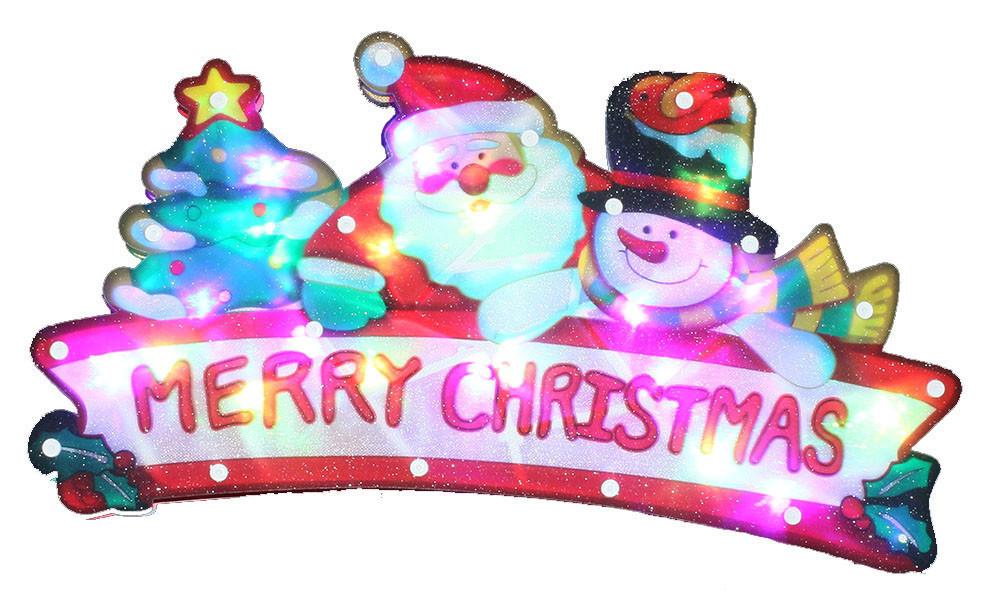 """Новогодняя скульптура """"Дед Мороз"""" 24 LED"""