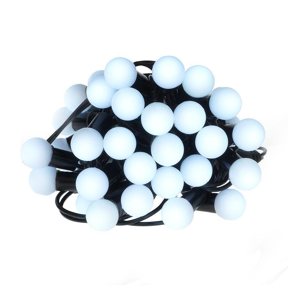 Новогодние шары 50LED,  белый холодный свет