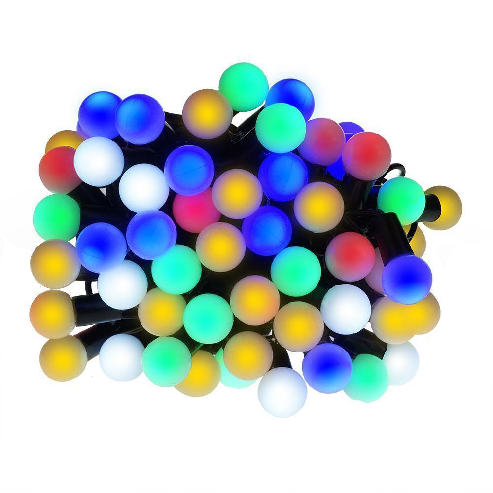 Новогодние шарики 100LED, Разноцветный свет