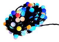 Новогодняя гирлянда 200 LED / 20 м, Разноцветный свет, фото 1