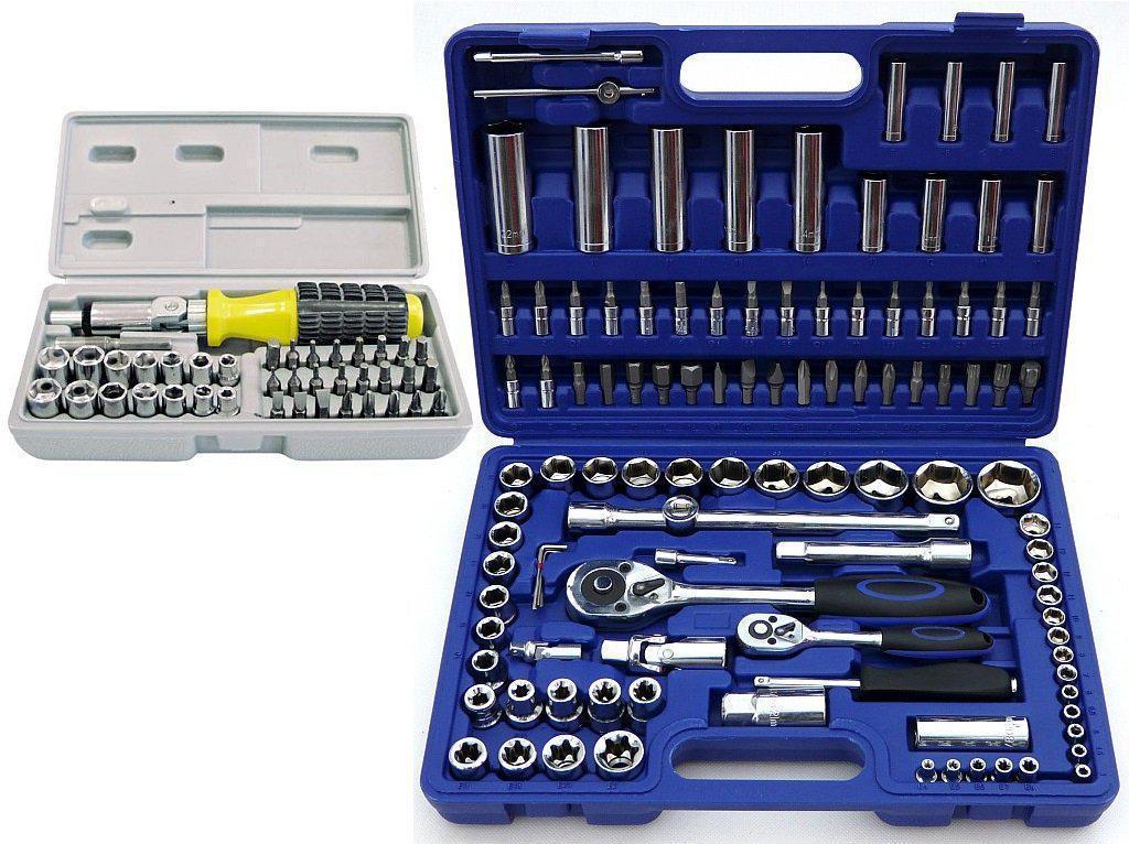 Набор ключей 108 шт + комплект насадок для отвертки 40 шт