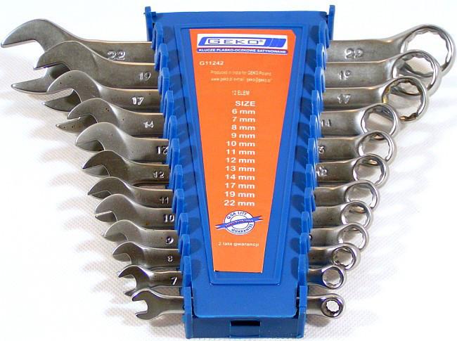 Набор ключей 6-22 мм 12 шт