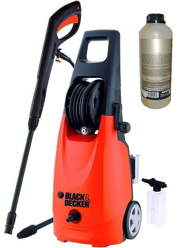 Мойка высокого давления BLACK DECKER PW2000T