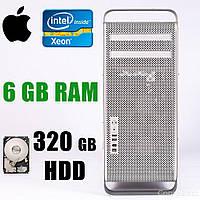 Apple Mac Pro A1186 (EMC 2180) Tower / Intel Xeon E5462 (4 ядра по 2.80GHz) / 6GB RAM / 320GB HDD