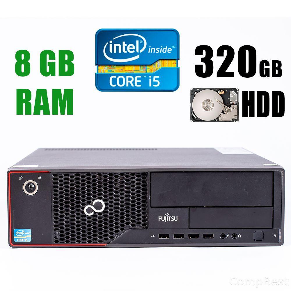 Fujitsu Esprimo E710 E90+ / Intel® Core™ i5-3470 (4 ядра по 3.20 - 3.60GHz) / 8GB DDR3 / 320GB HDD