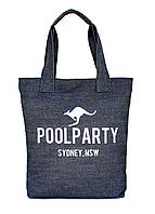Сумка женская джинсовая PoolParty (коттон pool-1-jeans), фото 1