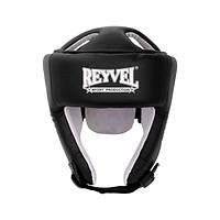 Шлем боксерский Reyvel кожа 2  крассный